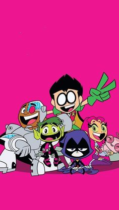 Teen Titans Go! is an animated series based off the original 2003 series on Cartoon Network. The voice actors of the original reprise their roles. The series focuses on the Teen Titans when they are not saving the world. Teen Titans Go Characters, Cartoon Characters, Cartoon Tv, Cartoon Shows, The New Teen Titans, Desenhos Cartoon Network, Cool Coloring Pages, Beast Boy, Cartoon Wallpaper