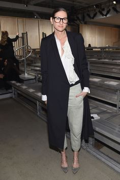 Jenna Lyons attends the DKNY Women's Fall 2016 fashion show