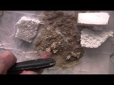 How to Make Rock Formation from Urethane Foam Part II - YouTube
