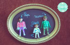 Portrait de famille en playmobil