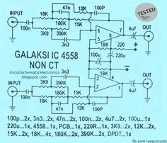 Subwoofer Module amplifier Circuit is indeed very popular with the audio hobbyist. Circuit that I publish, is a circuit of modules that use the subwoofer amplifier ic op-amp 4558 Electronics Projects, Electronics For You, Electrical Projects, Class D Amplifier, Audio Amplifier, Hifi Audio, Dc Circuit, Circuit Diagram, Tecnologia