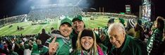 """""""Game day in Toronto is not complete until we meet up with ! Saskatchewan Roughriders, Toronto, Meet, Fan, Games, Concert, Twitter, Gaming, Concerts"""