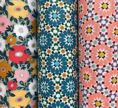 Fabrics coated 3 cotton cups coated with graphic patterns mosaic stars zebra shall pink and blue and flowers - Graphic Patterns, Star Patterns, Zebras, Baby Bibs, Floral Tie, Create Yourself, Mosaic, Cups, Fabrics