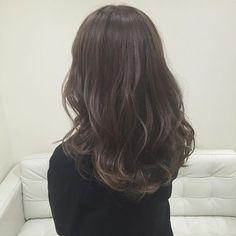 グレージュ 春っぽい透け感きれい。 #hair#ヘア#グレージュ#アッシュ#カラー#color#美容室#ベージュ