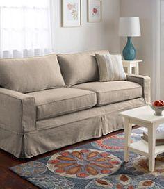 "#LLBean: Portland Sofa Slipcover 79"""