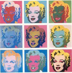 Marilyn Monroe 마릴린 먼로 - 앤디 워홀 팝아트 Andy Warhol,  Pop art