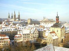 Altstadt Bamberg von Geyerswoerth aus