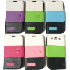 Click to view larger image and other views    Have one to sell? Sell it yourself  New For SamSung Galaxy S3 GT i9300 Card Wallet flip PU Leather Case Cover  Best item ever seen, with very good price! Recommend!