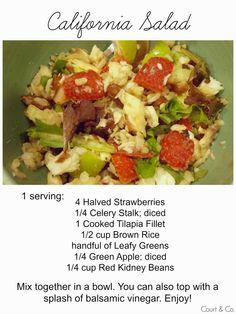 Court & Co. { California Salad Recipe } #california #salad #recipe #healthy   http://court-and-company.blogspot.com/2015/03/california-salad-recipe.html   #courtandcompany #lifestyleblog