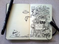 Kerby rosanes AMAZING doodle