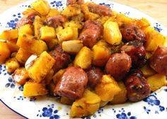 Sausages and Butternut Squash
