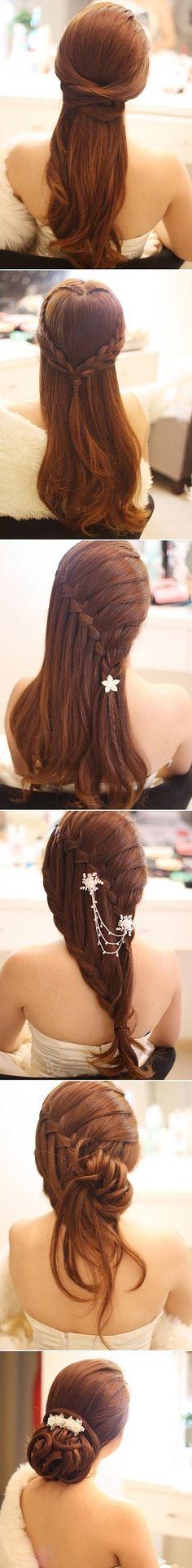 Peinados de fiesta.