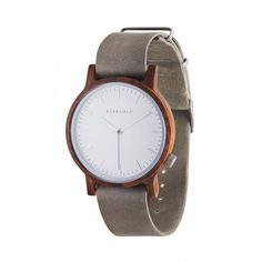 WALTER WALNUSS CONCRETE GREY - WALNUT CONCRETE GREY - ÖKOLOGISCHE HERRENUHR - MODERN DESIGN