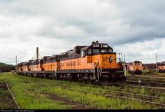 High quality photograph of Milwaukee Road EMD # MILW 549 at Minneapolis, Minnesota, USA. Milwaukee Road, Railroad Photography, Railway Museum, Train Pictures, Old Trains, Celebrity Travel, Minneapolis Minnesota, Diesel Locomotive, Train Layouts