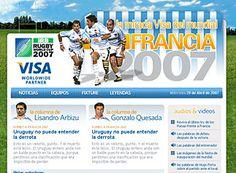 VISA Mundial de Rugby, activación online