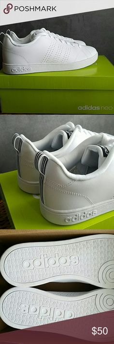 0add99b06 Adidas Advantage Clean Brand new never worn! Perfect condition, and super  trendy! Size. Adidas ShoesShoes SneakersAdidas WomenNike ...