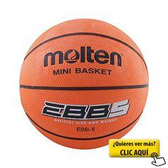Molten EBB5 - Balón de baloncesto, color naranja,... #balon #basket