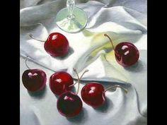 Le temps des cerises - Charles Trenet - Cerezas en la pintura