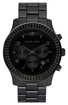 Must have. (Michael Kors Ceramic Watch, $495)