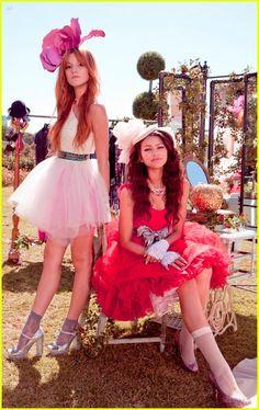 Zendaya & Bella Thorne, now that's some flower power!