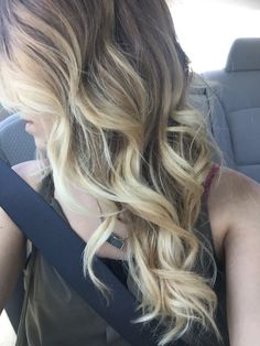 Hair ombré baylayage blonde  Dirty blonde summer tan roots  Bitchin