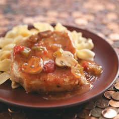 Pork Chop Cacciatore Recipe -It's hard to believe the wonderful flavor of these tender chops could come from such an easy recipe! Our taste panel loved it. Pair with noodles and a simple green salad, and dinner's served. Tracy Hiatt Grice - Somerset, Wisconsin