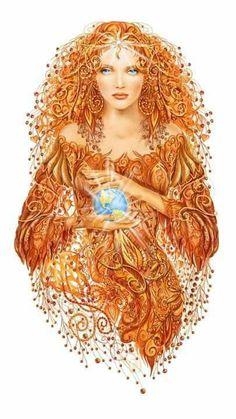 Goddess energy...