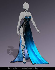 closed AUCTION) - Outfit Adopt 904 by CherrysDesigns on DeviantArt Source by drawing Clothing Sketches, Dress Sketches, Dress Drawing, Drawing Clothes, Fashion Design Drawings, Fashion Sketches, Fashion Drawings, Anime Outfits, Cool Outfits