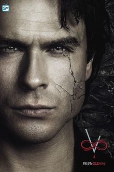 """Damon Salvatore -- The Vampire Diaries Season """"She put a crack in his armor, but couldn't break him down."""" -Sybil trying to take Damon Vampire Diaries Damon, Vampire Diaries Poster, Vampire Daries, Vampire Diaries Wallpaper, Vampire Diaries Seasons, Vampire Diaries The Originals, Paul Wesley, Damon E Stefan, The Cw"""