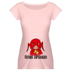 Future Superhero Funny Maternity T-Shirt by CafePress