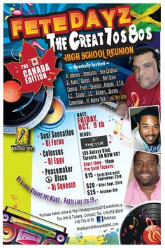 FETE DAYZ - The Canada Edition | Friday October 9