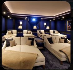 Home Theater Room Design, Movie Theater Rooms, Home Cinema Room, Home Theater Decor, Home Theater Seating, Cinema Room Small, Movie Rooms, Small Movie Room, Home Theatre Rooms