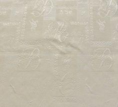アルファベット刺繍生地