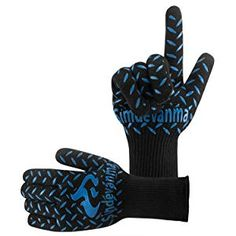 simdevanma Oven Gloves Heat Resistant Cooking Mitts-BBQ Grilling Big Green Egg- Fireplace Accessories and Welding,Cut Resistant and Forearm Protection with High Performance Heat Resistance,XL(blue) Cooking The Best Steak, Heat Resistant Gloves, Cordless Vacuum Cleaner, Best Bbq, Bbq Tools, Thing 1, Oven Glove, Fireplace Accessories, Green Eggs