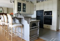 Painting cabinets with one step paint