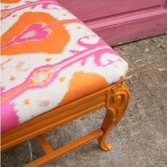 Vintage French Style Chair Upcycled Furniture In by GloryBDesign, $159.00