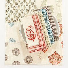 Hand Block-Print Textile Collection    $19.96 to $39.99