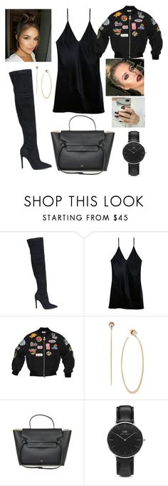 """""""Untitled #3104"""" by outfitstowear ❤ liked on Polyvore featuring Kendall + Kylie, Fleur du Mal, Michael Kors and Daniel Wellington"""