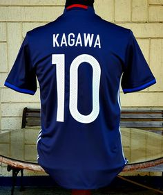 JAPAN 2016-2017 EAFF E-1 FINALS HOME SHINJI KAGAWA 10 JERSEY ADIDAS SHIRT SMALL ジャージーシャツ Shinji Kagawa, Vintage Jerseys, Adidas Shirt, Football Jerseys, Finals, Soccer, Japan, Classic, Sports