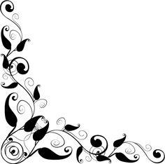 144 best clip art corners printables images on pinterest rh pinterest com corner clipart flowers image corner clipart design