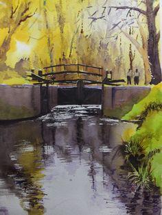 Lock Gates, Basingstoke Canal