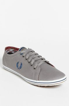 Fred Perry 'Kingston' Sneaker available at #Nordstrom ; canvas upper/textile lining/rubber sole