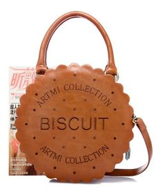 Japan Cute Cookie Biscuit 2-WAY Bags AMO Sweet Princess Ageha Gyaru Lolita Bags Candy Bags Kawaii