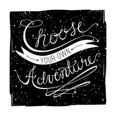 Click to see 'Choose Adventure' on Minted.com