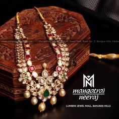 Handcrafted jewellery from Mangatrai Neeraj! For queries and purchase, Call us or Whats-app us on 97045 40000 Visit our store at Lumbini… Gold Jewellery Design, Handmade Jewellery, Gold Jewelry, Jewellery Shops, Jewellery Box, Gold Necklaces, Latest Jewellery, Trendy Jewelry, Simple Jewelry