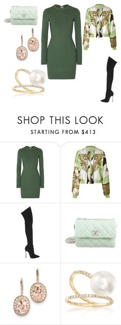 """Untitled #26378"" by edasn12 ❤ liked on Polyvore featuring 3.1 Phillip Lim, Emilio Pucci, Casadei, Chanel, Kevin Jewelers and Ross-Simons"