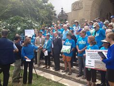 Supporters Out in Force at Courthouse Rally - Santa Barbara News - Edhat