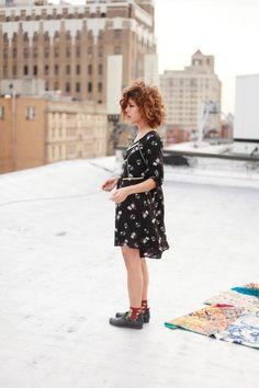 Christina Caradona - great curly hair
