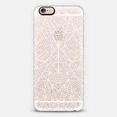 Abstract Lace Transparent - Classic Snap Case $40