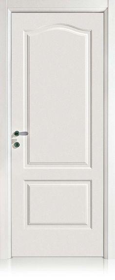 porta cieca  finitura laccata bianca  modello Kevia 4  Ferrero Legno